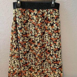 Lularoe floral skirt